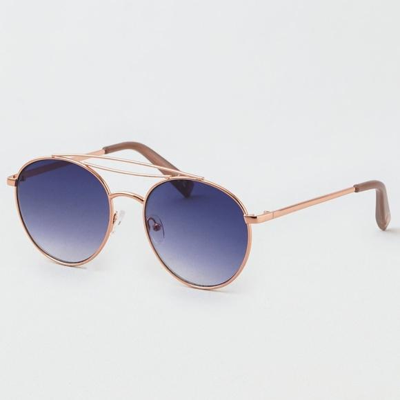 e8397e7c01 AEO Navy Top Bar Aviator Sunglasses. NWT. American Eagle Outfitters